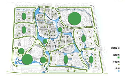 居住区水景快题设计